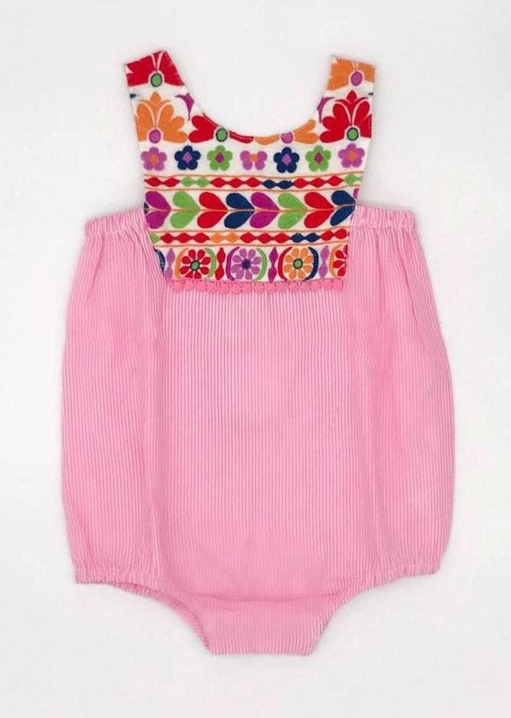 cheeni Layla Bubble - pink stripe