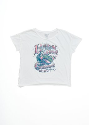 Midnight Rider Born on the Bayou Cut-off Tee