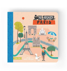 Lucy Darling All Aboard Paris Children's Book
