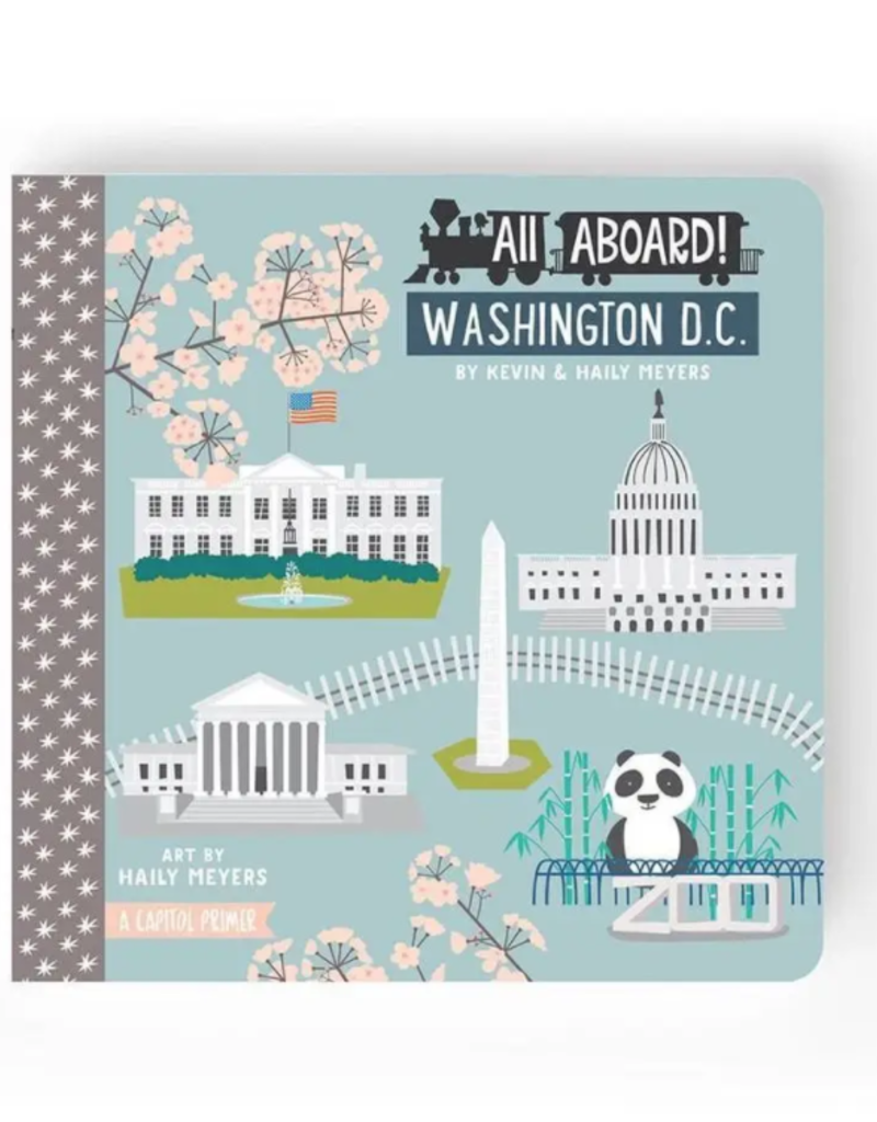 Lucy Darling All Aboard Washington DC Children's Book