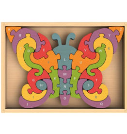 BeginAgain Butterfly A to Z Puzzle