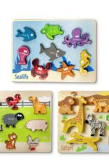 BeginAgain Animal Puzzle