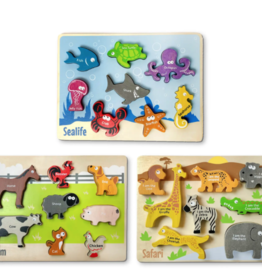 BeginAgain Animal Puzzle