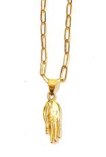 Boho Gal Mai Blessing hand Necklace