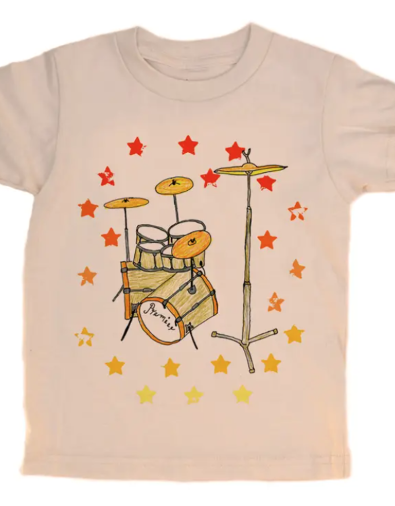 orangeheat Drums Tee