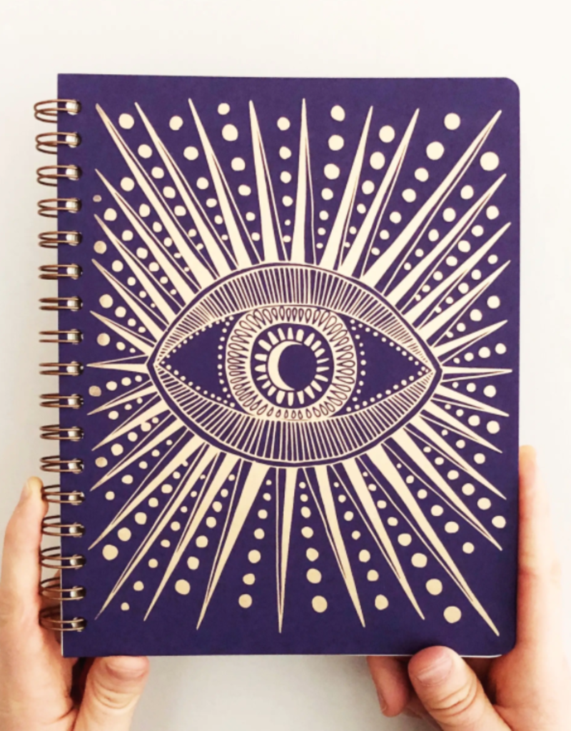 The Rainbow Vision Seeing Eye Journal - Purple
