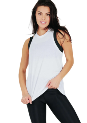 Yoga Democracy Why Knot Top - White