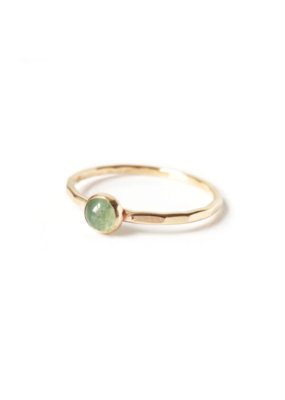Goldeluxe Jewelry Aventurine Stacking Ring 14k gold fill