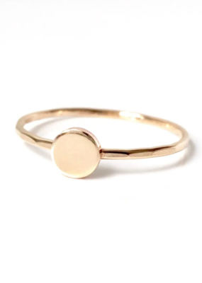 Goldeluxe Jewelry Circle Stacking Ring 14k gold fill