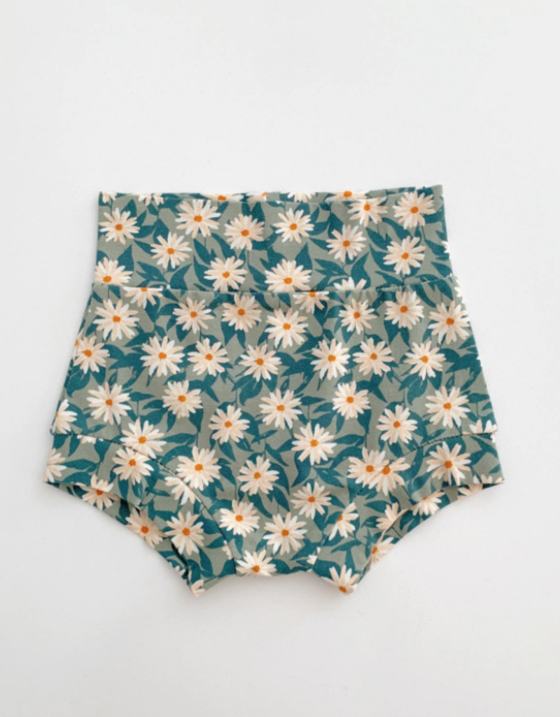 Bohemian Babies High Waisted Shorties: Lazy Daisy