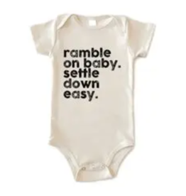 Disco Panda Kids Ramble On Baby Onesie