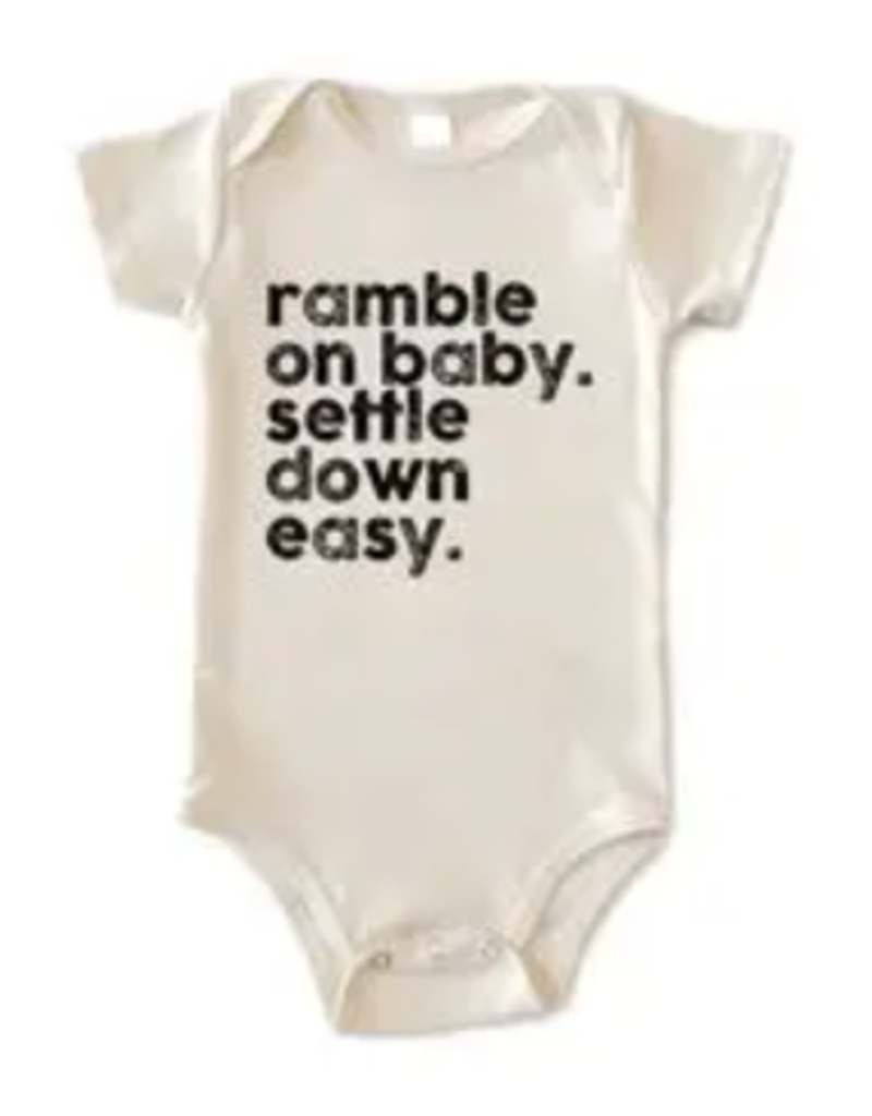Disco Panda Kids Ramble On Baby Onesie