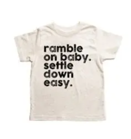 Disco Panda Kids Ramble On Baby Tee