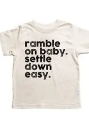Disco Panda Kids Ramble On Baby Tee