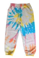 Disco Panda Kids Hand Tie-Dyed Sweatpants