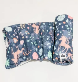 Buddha Babe Co Unicorn Garden Swaddle Quilt