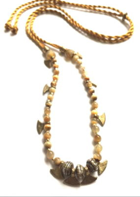 Heather Kahn Golden Mountain Necklace