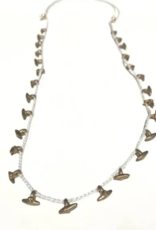 Heather Kahn Halcyon Hardware Necklace - White