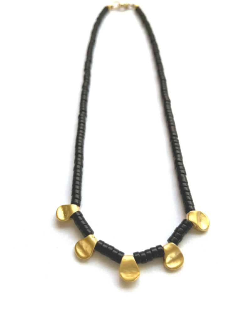 Heather Kahn Penta Collar Necklace