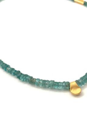 Heather Kahn Turquoise Waters Collar - Apatite