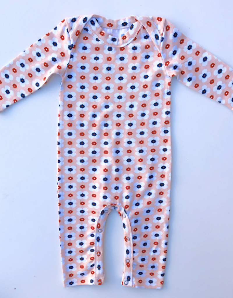 Lemon + Lucy Infant Jumper - Peachy Floral