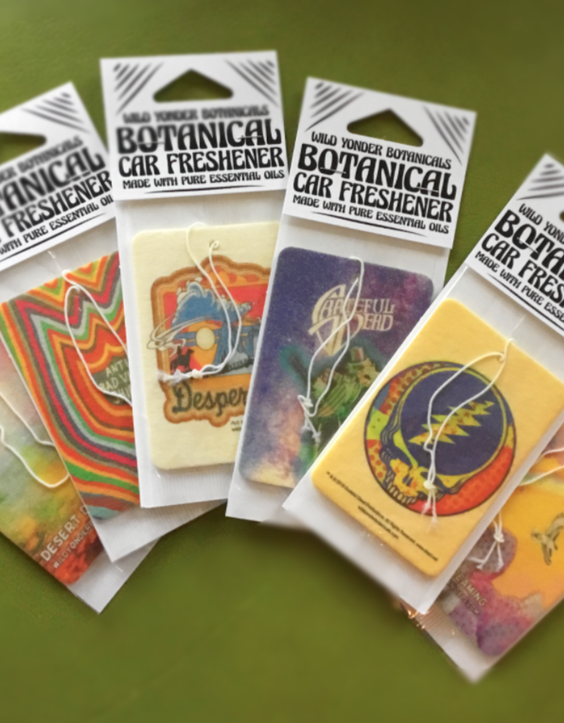 Wild Botanicals Grateful Dead Car Fresheners