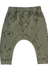 Rylee + Cru woods slub baby pant
