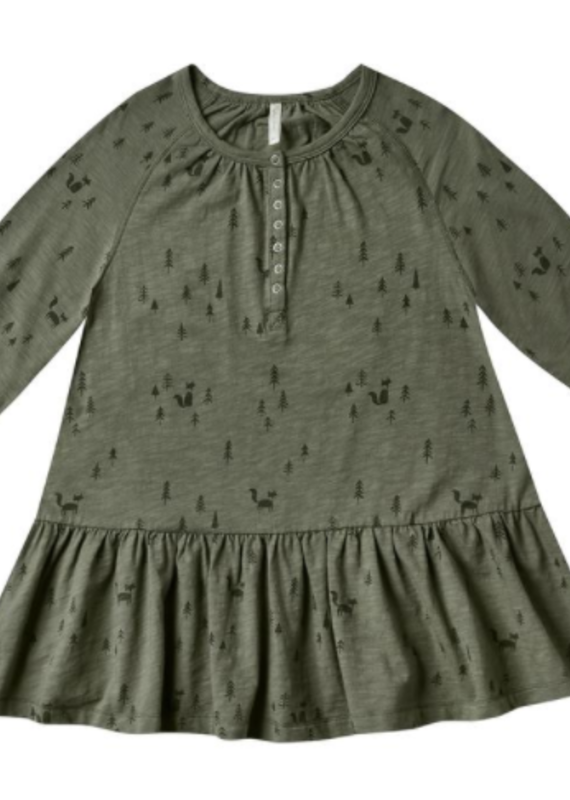 Rylee + Cru woods swing dress