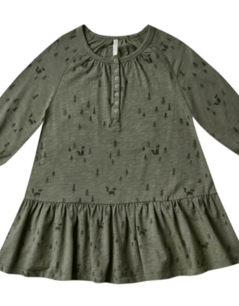 Rylee + Cru woods swing dress