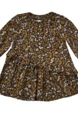 Rylee + Cru dark floral hazel dress