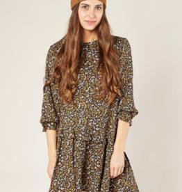 Rylee + Cru dark floral hazel shift dress