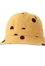 Disco Panda Kids Polka Dot Sun Hat - Mustard