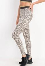 Mono B Jaguar Striped Band Leggings