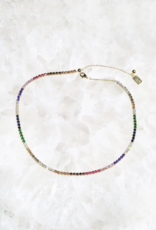 Native Gem Prismatic Tennis Necklace