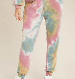 Blueivy Tie-Dye Jogger Pants
