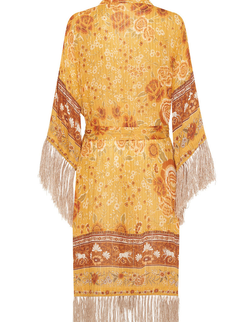 Spell and the Gypsy Collective Mystic Tasselled Robe - Sunflower