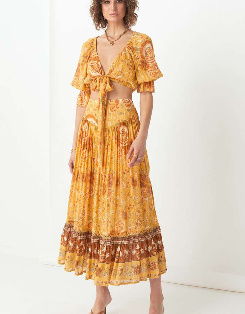 Spell and the Gypsy Collective Mystic Maxi Skirt Sunflower
