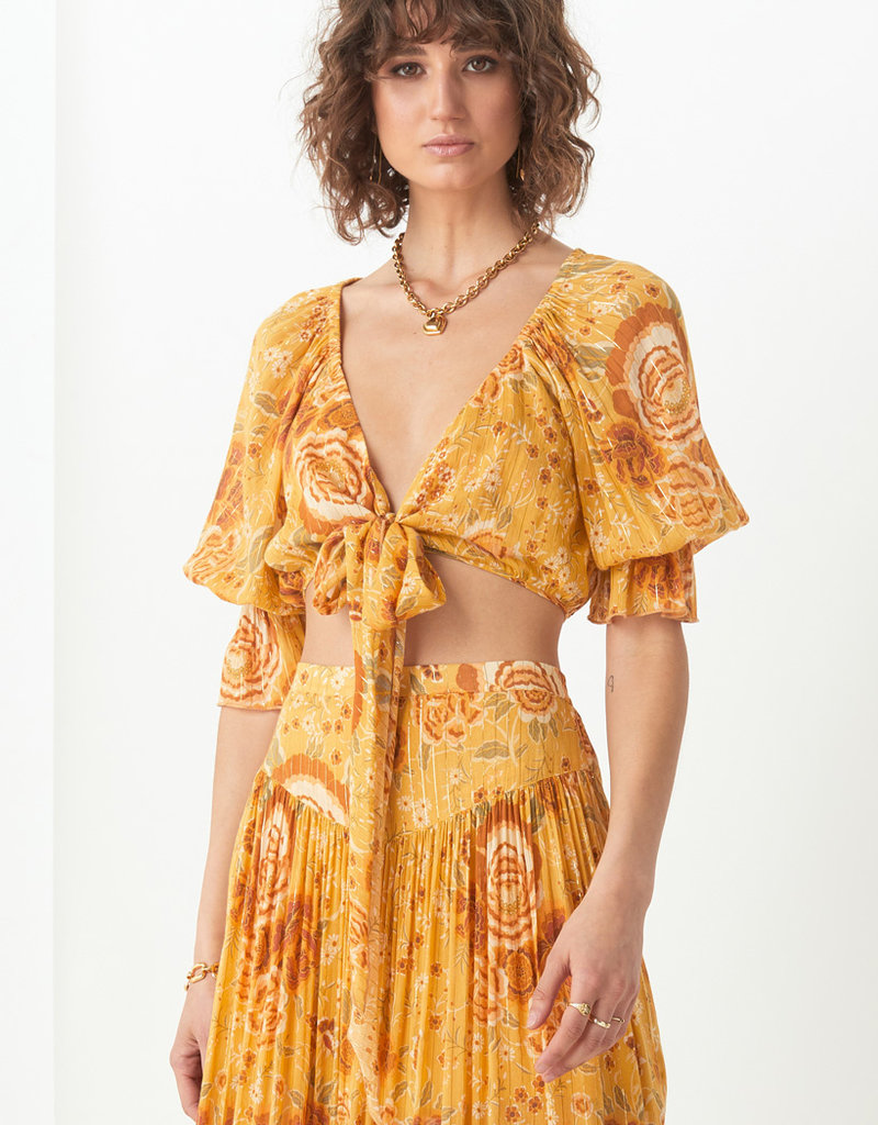 Spell and the Gypsy Collective Mystic Tie Top Sunflower