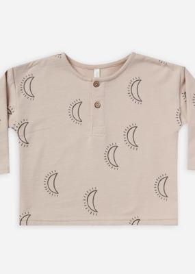 Rylee + Cru longsleeve henley - moons
