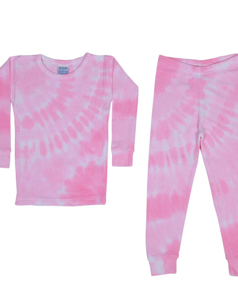 Baby Steps, inc Leah 2Pc Pajamas - Thermal Tie Dye