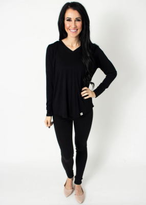 BYTAVI Black Tunic