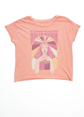Midnight Rider Bowie Sphinx Cut Off Tee