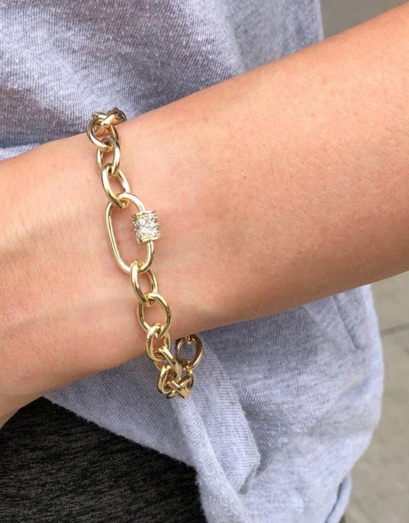 Nikki Smith Designs Finn Link Bracelet
