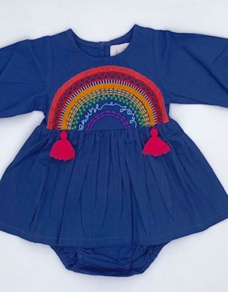 cheeni Choose Joy Baby Dress