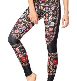 Yoga Democracy Printed Yoga Leggings