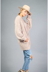 Loveriche Taupe Cardigan