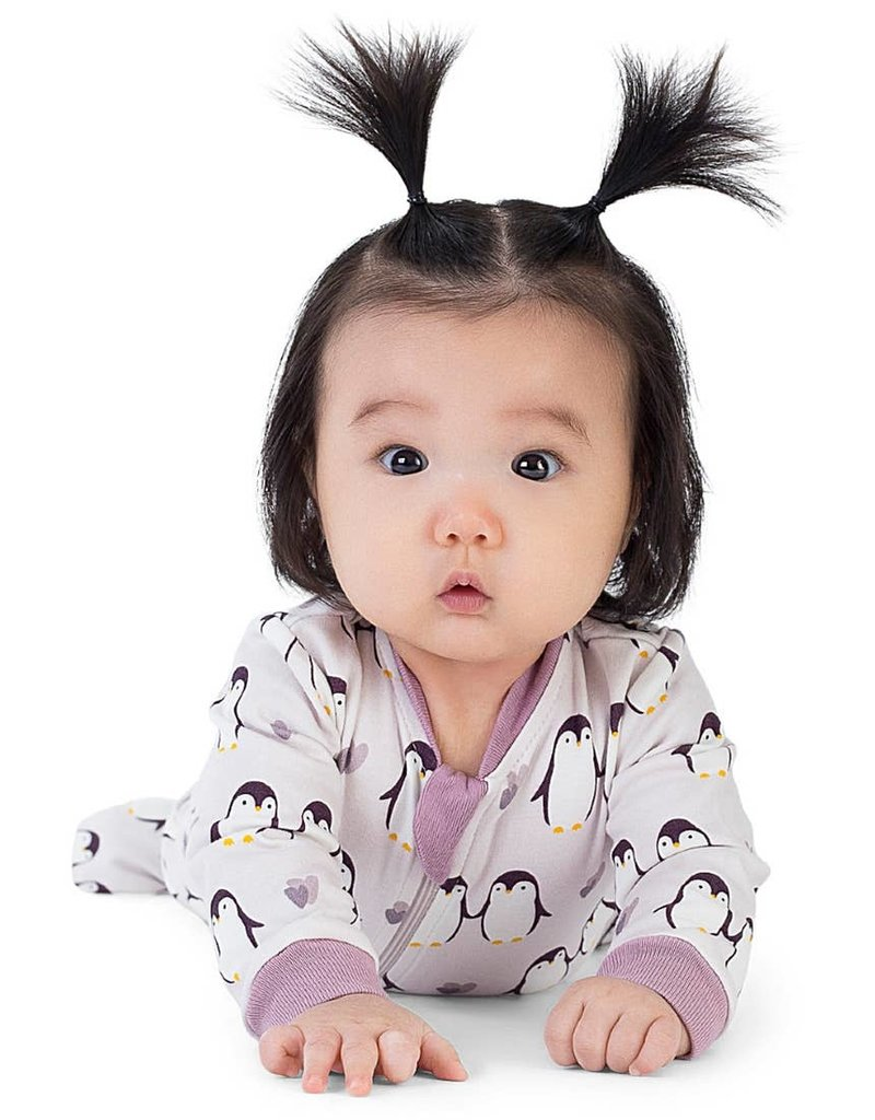 ZippyJamz Little Empress - Babysuit Footed Onesie
