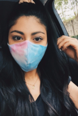 Ryan Porter Blue/Purple/Pink Tie Dye Mask