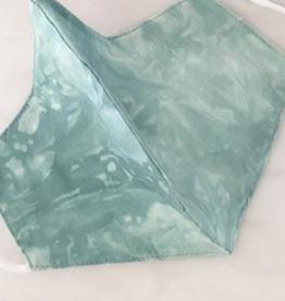Ryan Porter Green Marble Tie Dye Mask