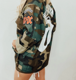 PCH The Label Rock n Roll Forever Camp Jacket